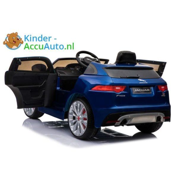 Kinder accu auto f pace blauw 4