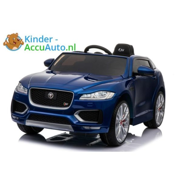 Kinder accu auto f pace blauw 3