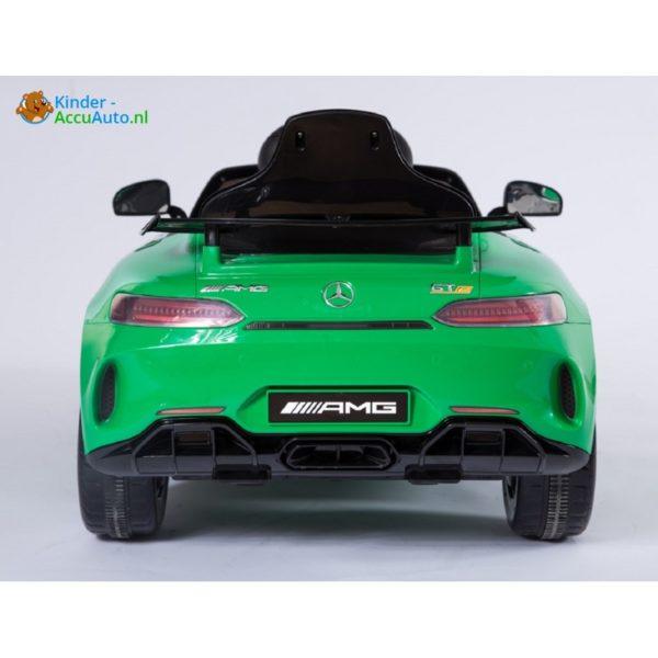 Kinder accu auto mercedes GTR AMG kinderauto groen 4