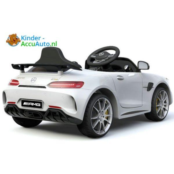 Kinder accu auto mercedes GTR amg kinderauto wit 1