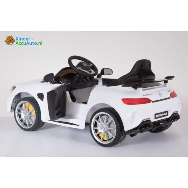 Kinder accu auto mercedes GTR amg kinderauto wit 5