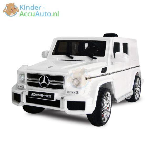 Kinder accu auto mercedes G63 amg wit
