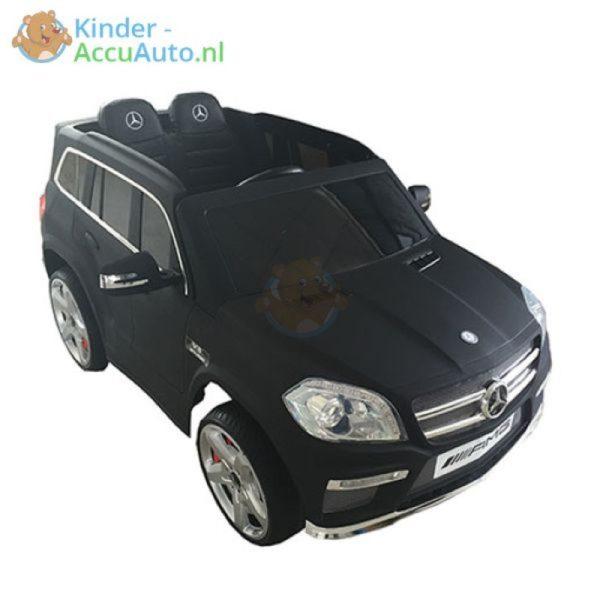 Kinder accu auto mercedes GL63 mat zwart
