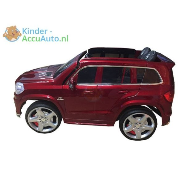Kinder Accu Auto Mercedes GL63 rood 2