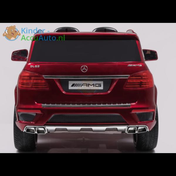 Kinder Accu Auto mercedes GL63 rood 5