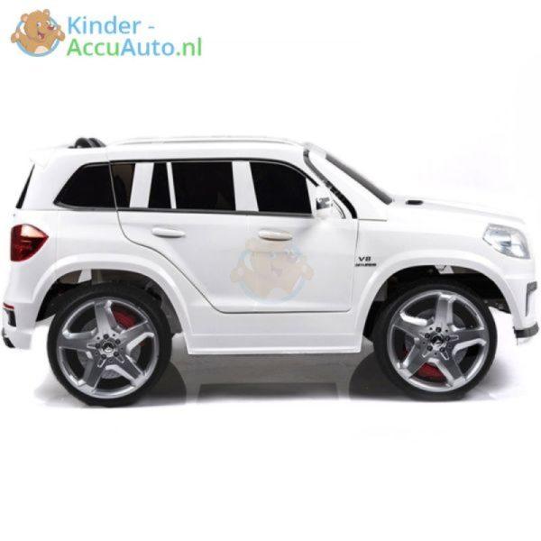 Kinder accu auto mercedes GL63 wit 1