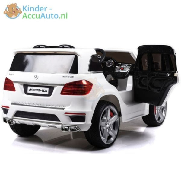 Kinder accu auto mercedes GL63 wit 3