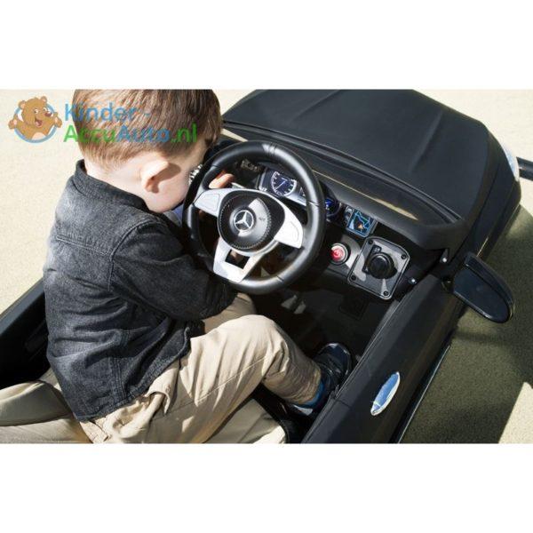 Kinder Accu Auto Mercedes S63 AMG Mat zwart 3