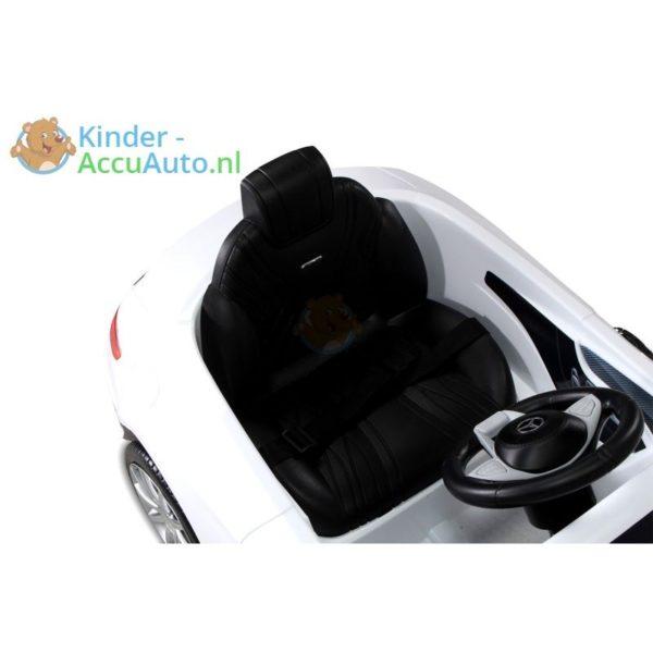 Kinder Accu Auto mercedes S63 amg wit 5