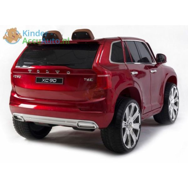 kinder accu auto volvo xc90 rood kinderauto 12