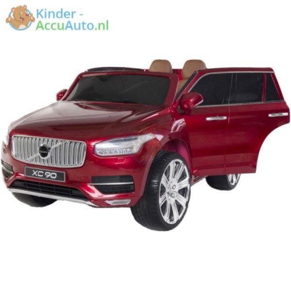 kinder accu auto volvo xc90 rood kinderauto 2