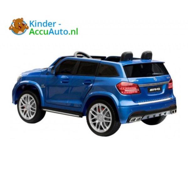 Kinder accu auto mercedes GLS 63 blauw 3