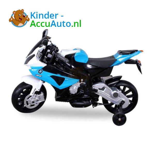 BMW S1000RR 12V Blauw Kindermotor 5
