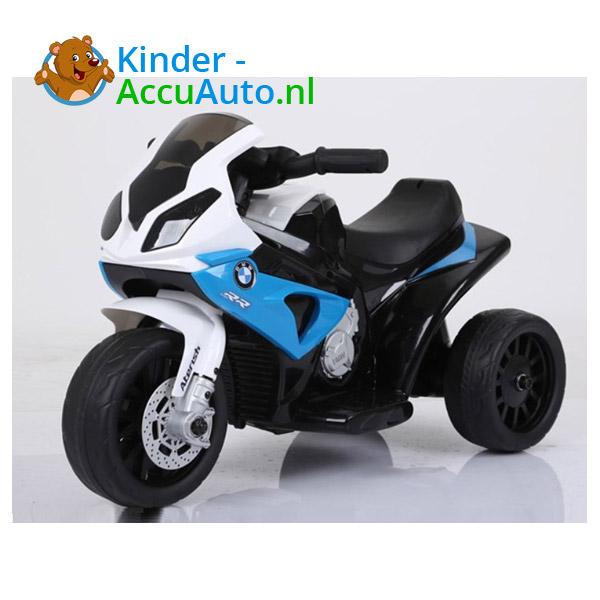 BMW S1000RR 6V Blauw Kindermotor 1