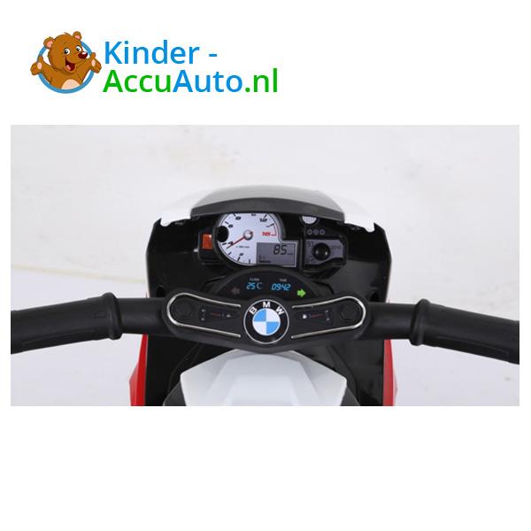 BMW S1000RR 6V Blauw Kindermotor 10