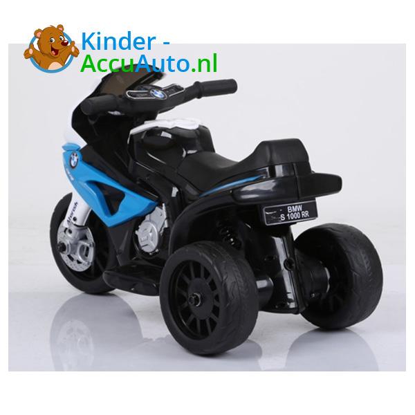 BMW S1000RR 6V Blauw Kindermotor 8