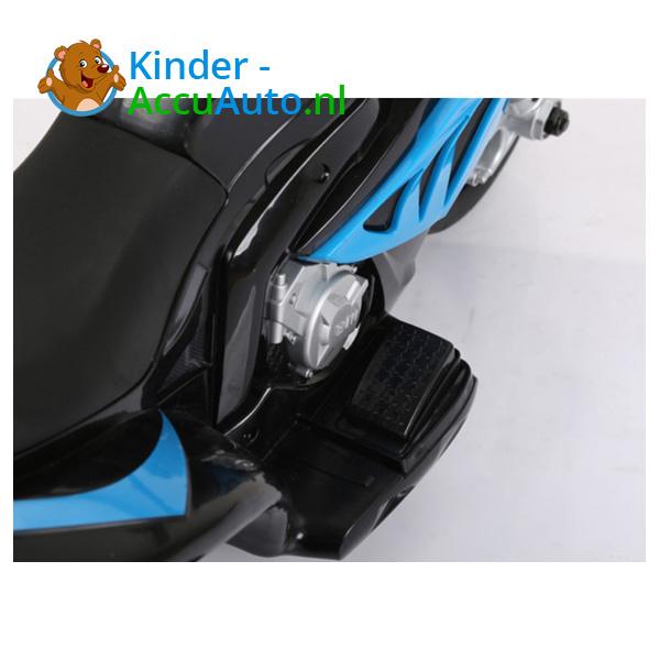 BMW S1000RR 6V Blauw Kindermotor 9