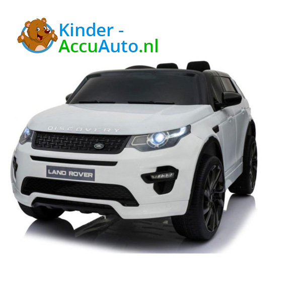 Land Rover Wit Kinderauto Discovery 1