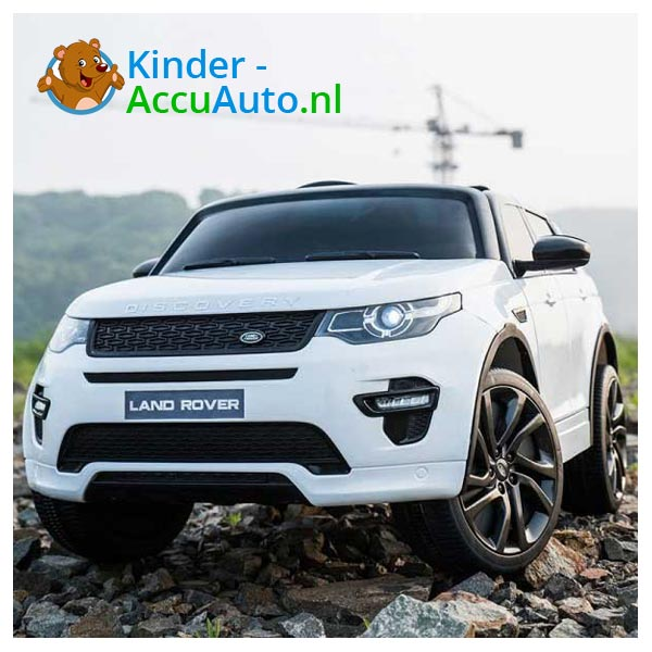 Land Rover Wit Kinderauto Discovery 12
