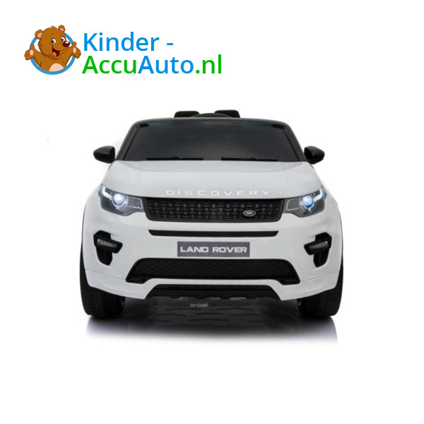 Land Rover Wit Kinderauto Discovery 2