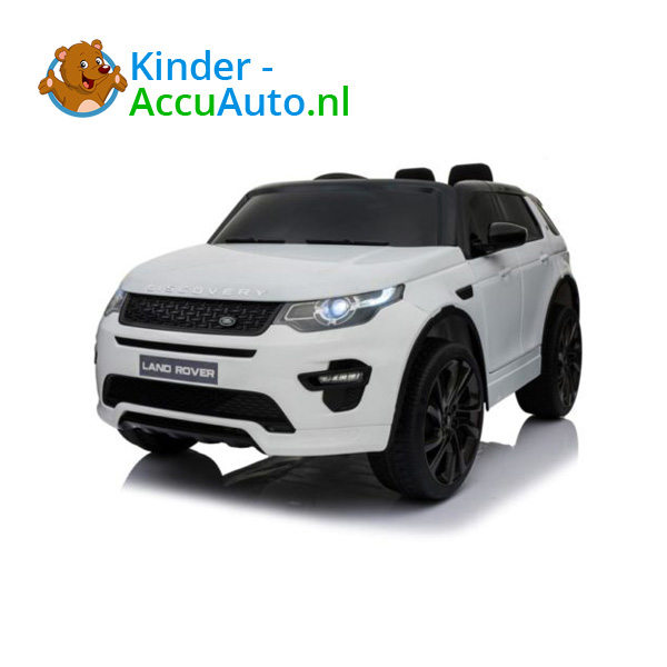 Land Rover Wit Kinderauto Discovery 3