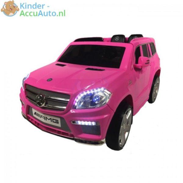 Mercedes GL63 amg kinderauto roze