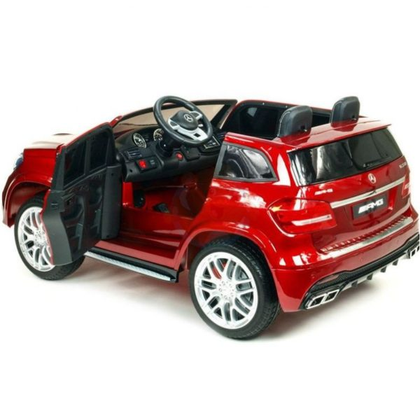 Mercedes GLS 63 AMG kinderauto rood 1