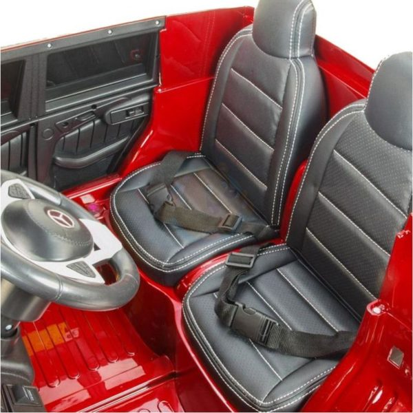Mercedes GLS 63 AMG kinderauto rood 3