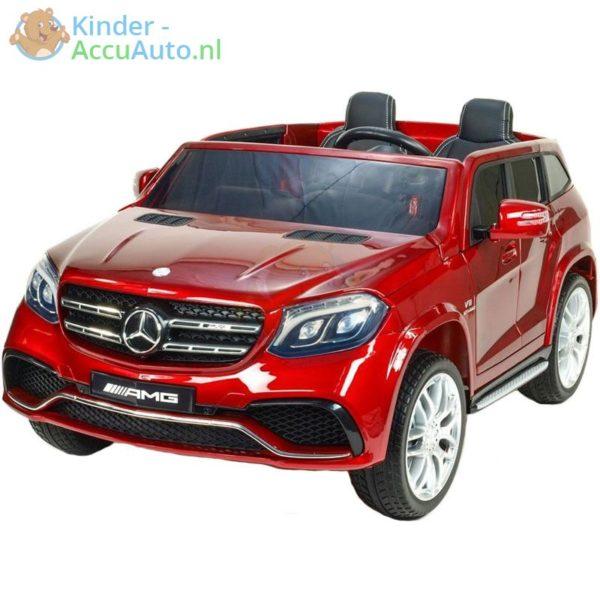 Mercedes GLS 63 AMG kinderauto rood 5