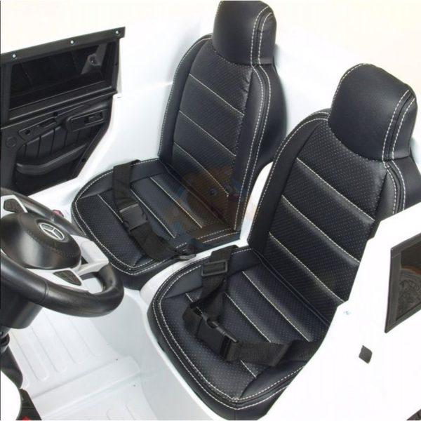 Mercedes GLS 63 AMG kinderauto wit 1