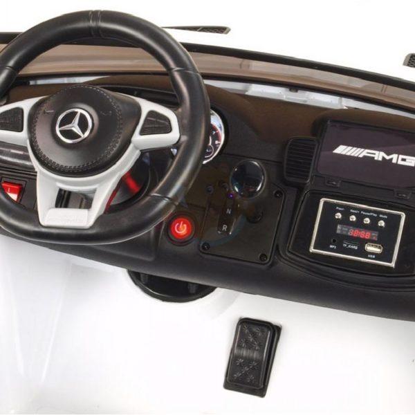 Mercedes GLS 63 AMG kinderauto wit 4