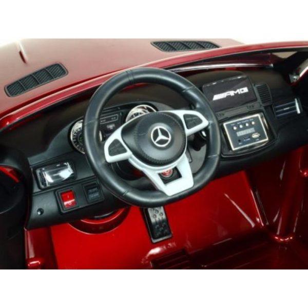 Mercedes GLS 63 AMG kinderauto rood 7