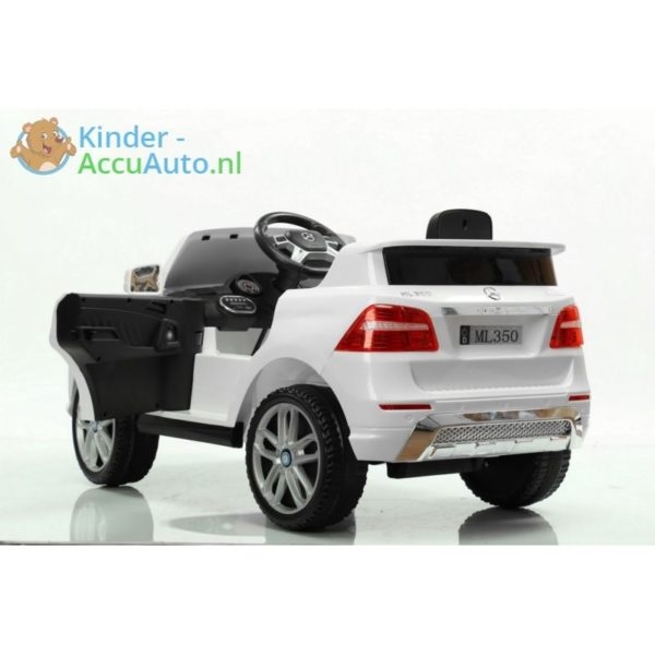 Mercedes ML350 kinder accu auto wit kinderauto 2