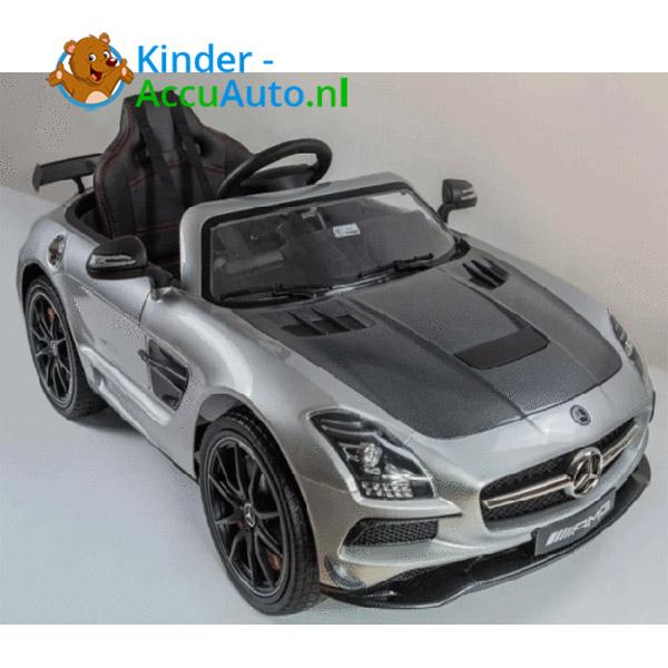 Mercedes SLS Zilver Kinderauto 2
