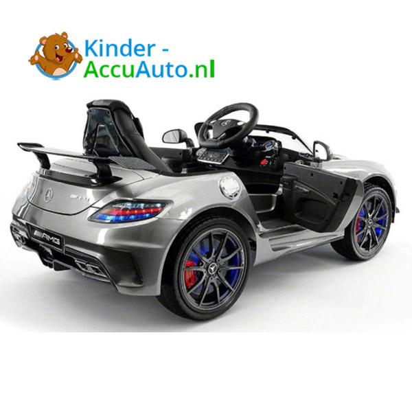 Mercedes SLS Zilver Kinderauto 4