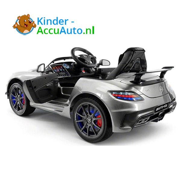 Mercedes SLS Zilver Kinderauto 5