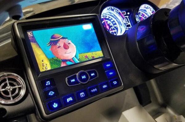 Mercedes SLS Zilver Kinderauto 6