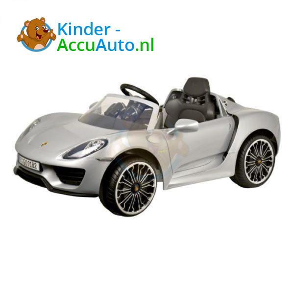Porsche 918 Spyder Kinderauto Grijs 1