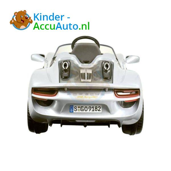Porsche 918 Spyder Kinderauto Grijs 3