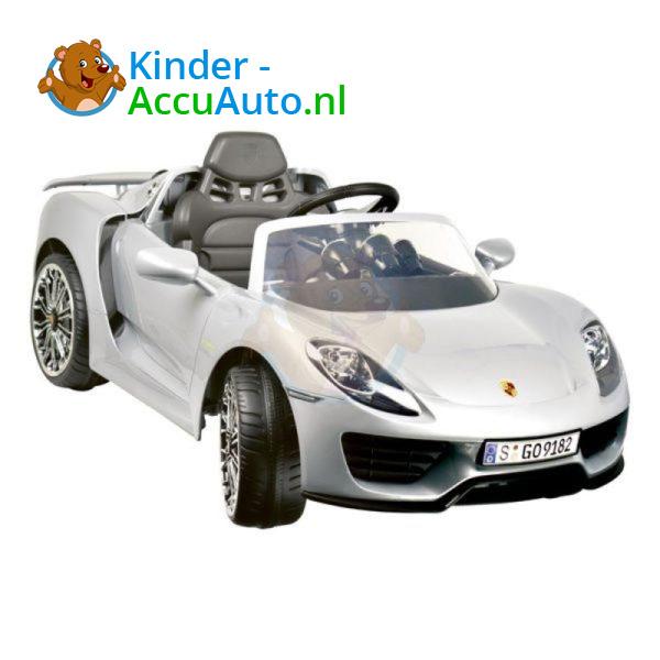Porsche 918 Spyder Kinderauto Grijs 4
