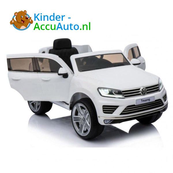 Volkswagen Touareg Kinderauto Wit 10