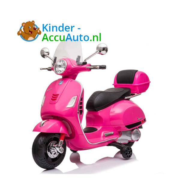 Vespa GTS Roze Kinderscooter