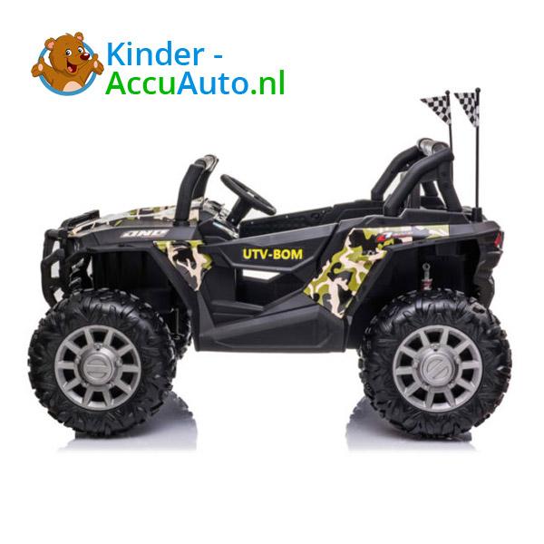 beach buggy elektrische kinderauto camo 2