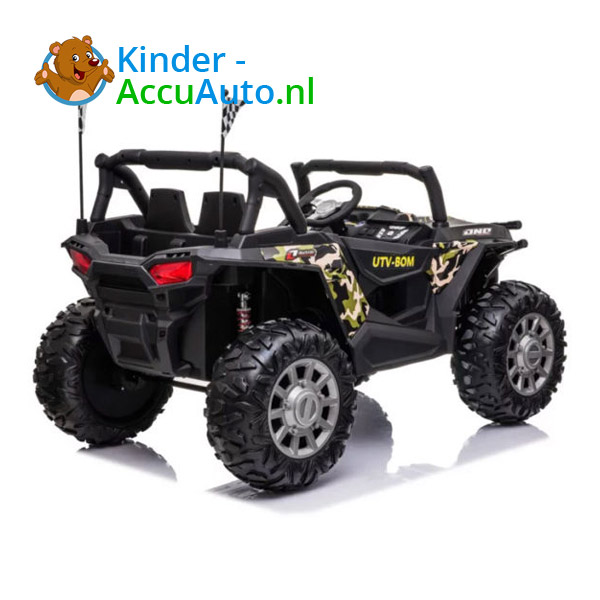beach buggy elektrische kinderauto camo 4
