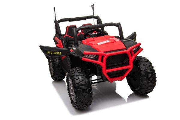 beach buggy elektrische kinderauto rood 5