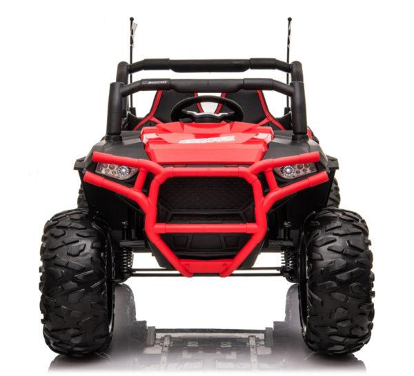 beach buggy elektrische kinderauto rood 6