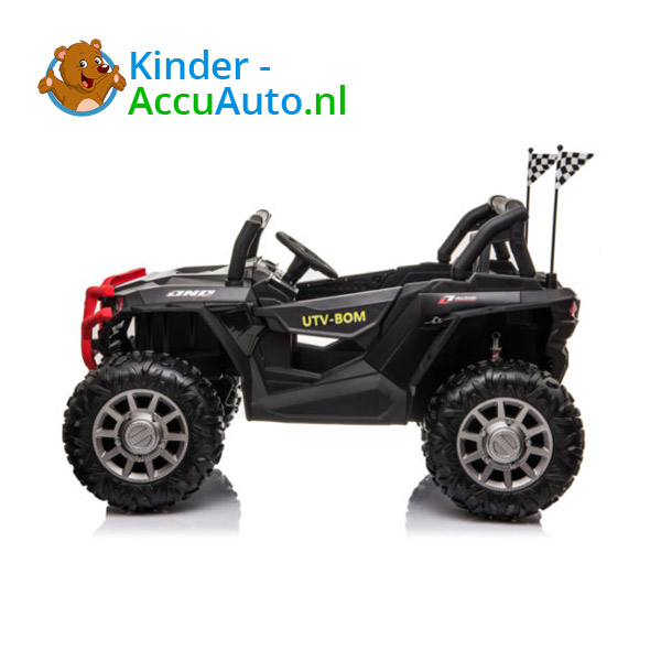 beach buggy elektrische kinder auto zwart 2
