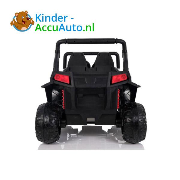 elektrische kinderauto beach buggy 4x4 wit 12