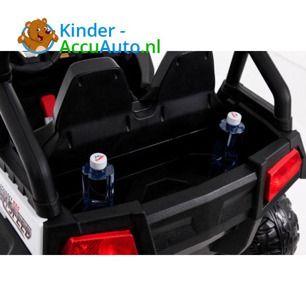 elektrische kinderauto beach buggy 4x4 wit 6