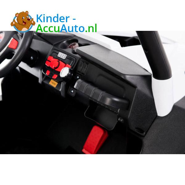 elektrische kinderauto beach buggy 4x4 wit 7